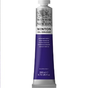 Tinta Óleo Winton Dioxazine Purple Winsor & Newton 200ml