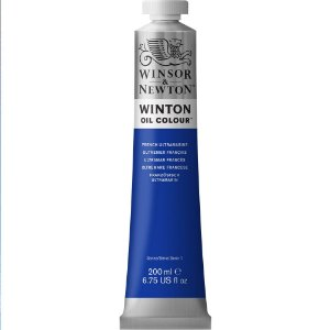 Tinta Óleo Winton French Ultramarine Winsor & Newton 200ml