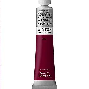 Tinta Óleo Winton Magenta Winsor & Newton Tubo 200ml