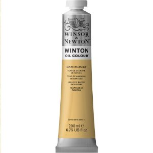Tinta Óleo Winton Naples Yellow Hue Winsor & Newton 200ml