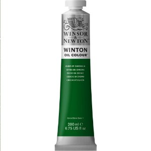 Tinta Óleo Winton Oxide Of Chromium Winsor & Newton 200ml