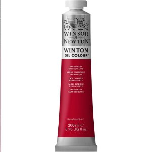 Tinta Óleo Winton Permanent Crimson Lake Winsor & Newton 200ml