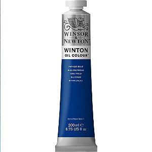 Tinta Óleo Winton Phthalo Blue Winsor & Newton 200ml