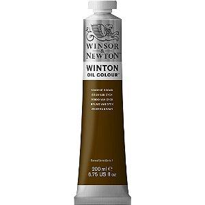 Tinta Óleo Winton Vandyke Brown Winsor & Newton Tubo 200ml