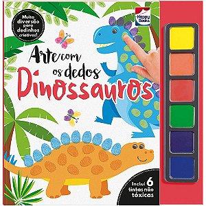 Arte Com Os Dedos: Dinossauros