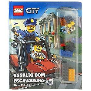 Lego City. Assalto Com Escavadeira