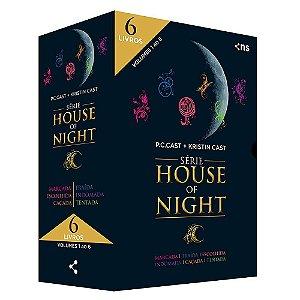 Box House Of Night - Coleção Completa Vol.1 (Livros 1 Ao 6)
