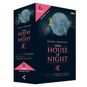 Box House Of Night - Coleção Completa Vol.2 (Livros 7 Ao 12)