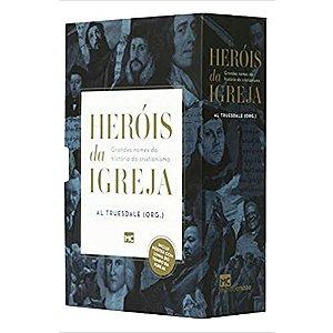 Box Heróis Da Igreja - Grandes Nomes Da História Do Cristianismo