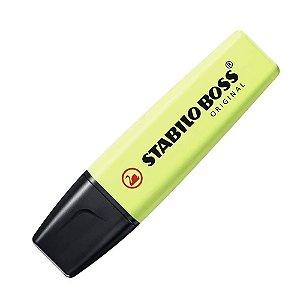 Marca Texto Stabilo Boss Original Pastel Verde Limão 70/133