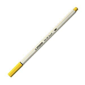 Caneta Pincel Stabilo Pen 68 Brush Lettering Amarelo 568/44