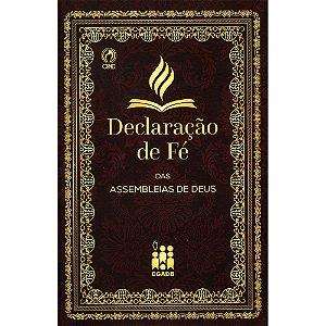 Declaração De Fé (Brochura)