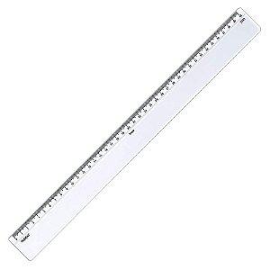 Régua Trident Em Acrílico 40 cm C/ Escalas 7140