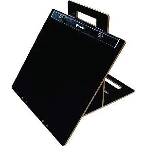 Prancheta Portatil A4 Trident Articulada Mdf Lacca Preto Luxo 4820-A4PL