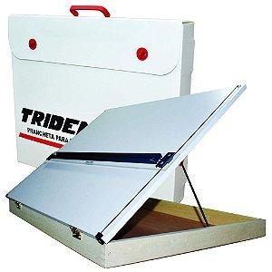 Prancheta Portatil A2 Trident C/ Régua Regulagem Inclinação 5002