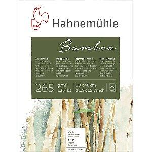 Bloco Bamboo Hahnemuhle Mixed Media 265 g/m² 30x40 25Fls