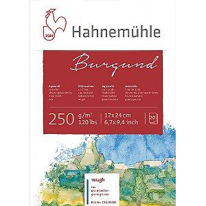 Bloco Aquarela Hahnemuhle Burgund 250 g/m² 17X24 Rough 20fls