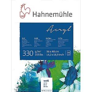 Bloco Acrílico Acryl Hahnemuhle 330 g/m² 36X48 20 Folhas