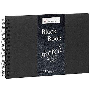 Caderno Espiral A4 Black Book Hahnemuhle 250 g/m² 30 Folhas