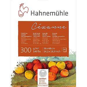 Bloco Aquarela Cezanne Hahnemuhle 300 g/m² 36x48 Hot Pressed 10Fls