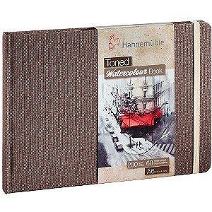 Bloco Sketch Book A6 Toned Bege A6 Paisagem 200G 30Fls Hahnemuhle Watercolour