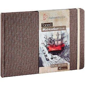 Bloco Sketch Book A5 Toned Hahnemuhle 200 g/m² Bege Paisagem 30Fls Watercolour