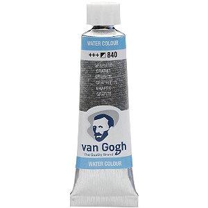 Tinta Aquarela Talens Van Gogh Graphite 840 Tubo 10ml