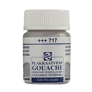 Tinta Gouache Talens Extra Fine 16ml Cold Grey 717 Cinza