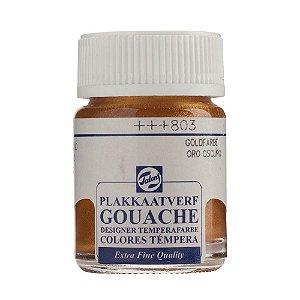Tinta Gouache Talens Extra Fine 16ml Deep Gold 803 Dourado