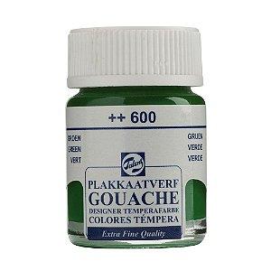 Tinta Gouache Talens Extra Fine 16ml Green 600 Verde