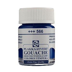 Tinta Gouache Talens Extra Fine 16ml Prussian Blue 566 Azul