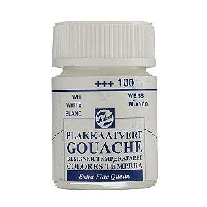Tinta Gouache Talens Extra Fine 16ml White 100 Branco