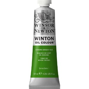 Tinta Óleo Chrome Green Hue Winsor & Newton 37ml 1414145