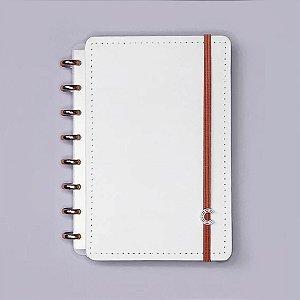 Caderno Inteligente All White Grande 80 fls