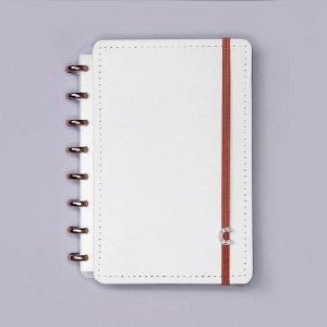 Caderno Inteligente All White Médio 80 Fls