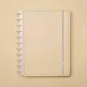 Caderno Inteligente Amarelo Pastel Médio 80 fls