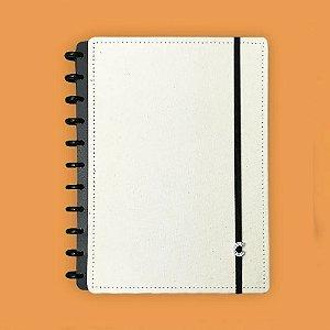 Caderno Inteligente Grande Canvas Branco 80 Fls
