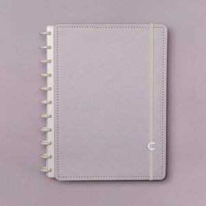 Caderno Inteligente Médio Lilás Pastel Roxo 80 Fls