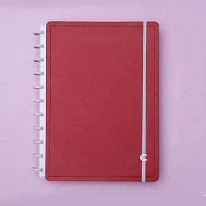 Caderno Inteligente A5 Vermelho Cereja 80 Fls