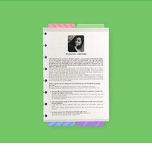 Planner Estudante Refil Caderno Inteligente A5 By Ana Clara Diniz
