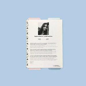 Refil Médio Planner Da Sof Caderno Inteligente