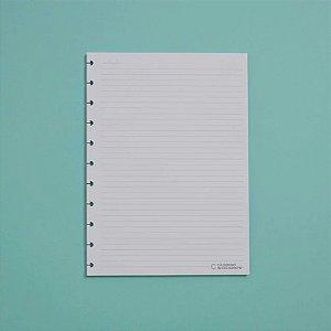 Refil Pautado 90G Caderno Inteligente A5 Cira2004