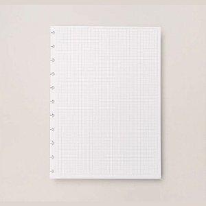 Refil Quadriculado Caderno Inteligente Médio Cirm3005