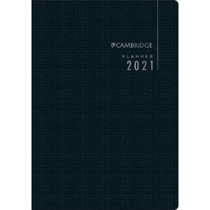 Planner Tilibra Executivo Cambridge 2021 Médio Grampeado