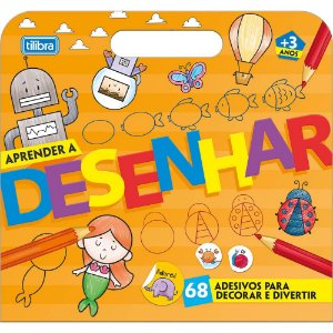 Maleta Tilibra Academie Aprender Desenhar 16Fls P/ Colorir