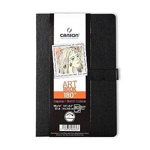 Caderno Artbook A5 Canson 96 g/m² 180° 80 Folhas