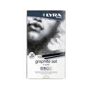 Lapis Lyra Rembrandt Graphite Set C/11 Peças Profissional