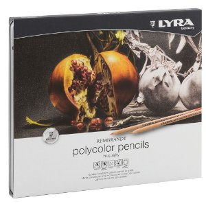 Lapis Cor Lyra Rembrand Polycolor 24 Cores Estojo Lata Profissional