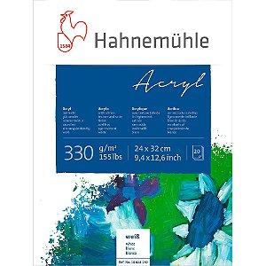 Bloco Acrílico Hahnemuhle Acryl 330 g/m² 24x32 20 Folhas