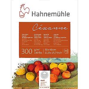 Bloco Aquarela Cezanne 300 g/m² Cold Pressed 30x40 10Fls Hahnemuhle